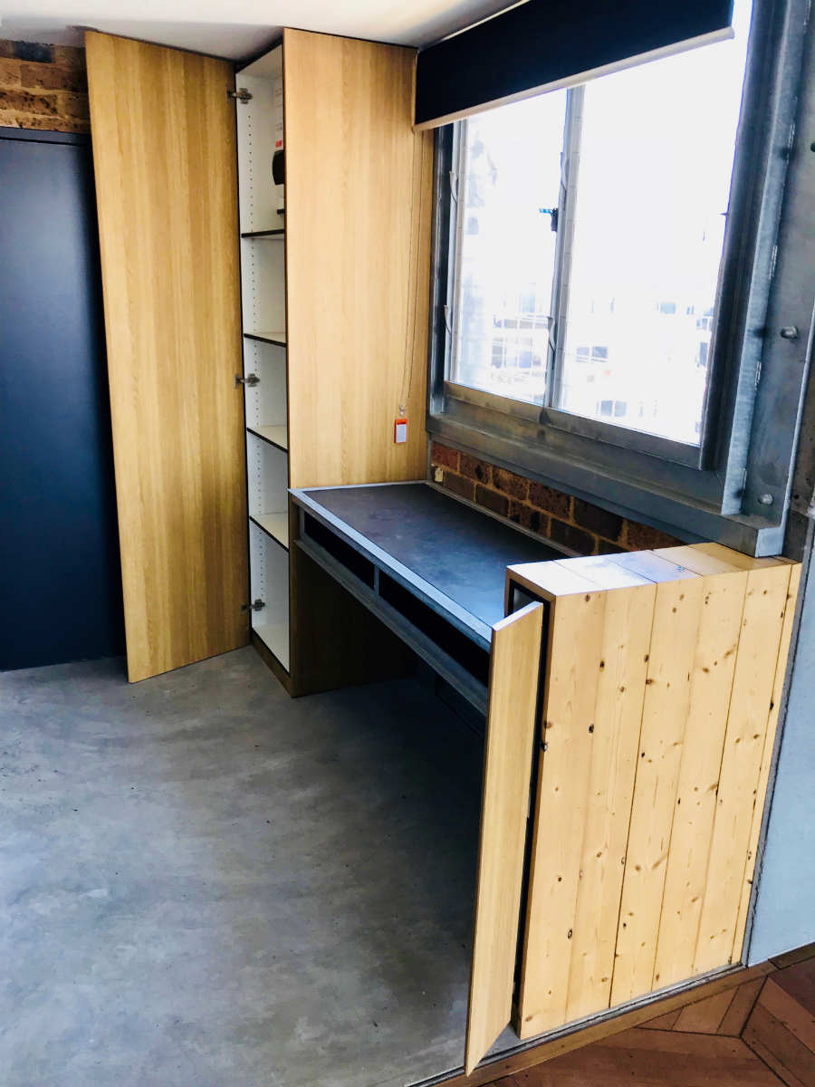 Rothschild St - Study Desk & Storage